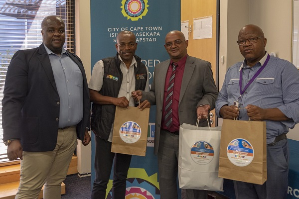 City Hosts Executive Mayor Of Garden Route District Municipality Rnews
